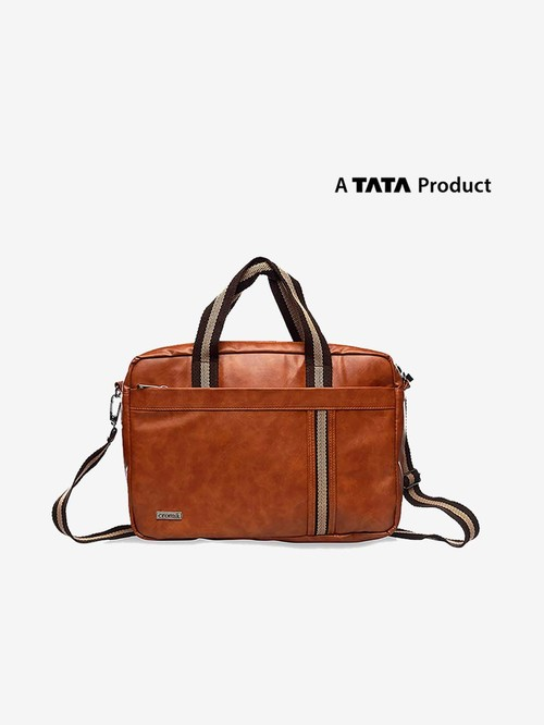 Croma Messenger Bag for 15 inch Laptop  CRXL5201, Brown