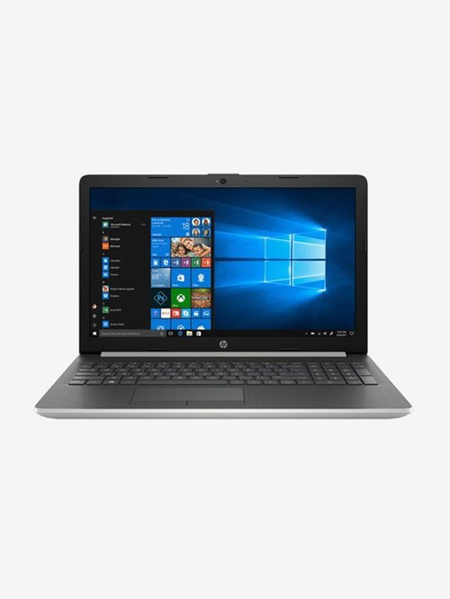 HP Notebook 15 DA0435TX i3 7thGen 8 GB 1TB HDD 15.6 inch Win10H+MSO 2 GB Graphics Silver HP Electronics TATA CLIQ
