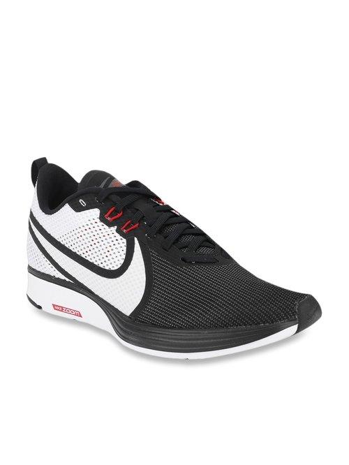 2019 mejor venta mejor selección al por mayor Buy Nike Zoom Strike Black Running Shoes for Men at Best Price ...