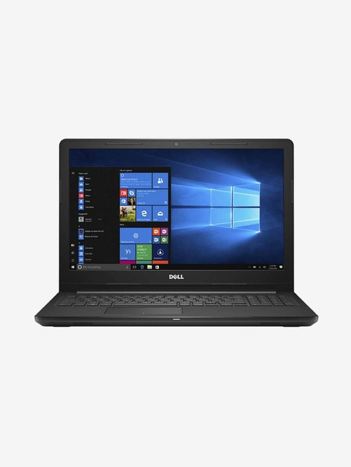 Dell Inspiron laptop 3565 AMD A6 7th Gen 4 GB 500 GB HDD 15.6 inch Windows 10 INT Graphics Black