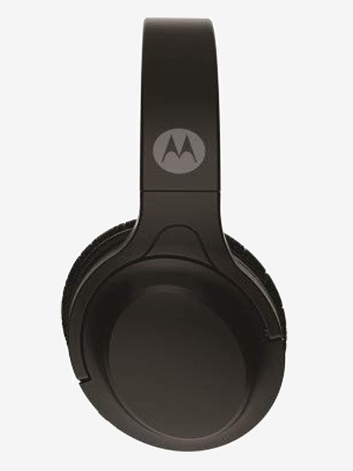 Motorola Black Escape 200 Over-Ear Bluetooth Headphones with Google Assistant