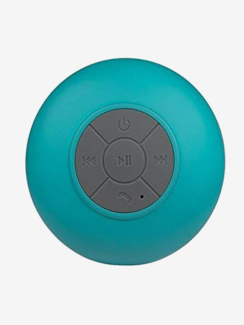 Spot Waterproof Shower Bluetooth Speaker  Blue