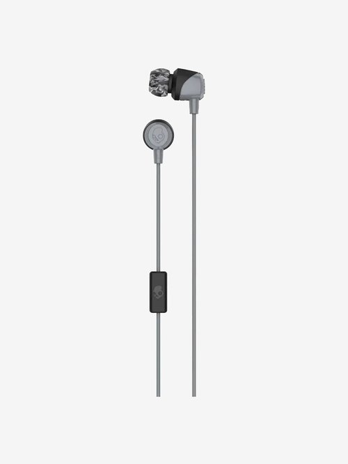 Skullcandy Jib Wired Earphones With Mic  Grey