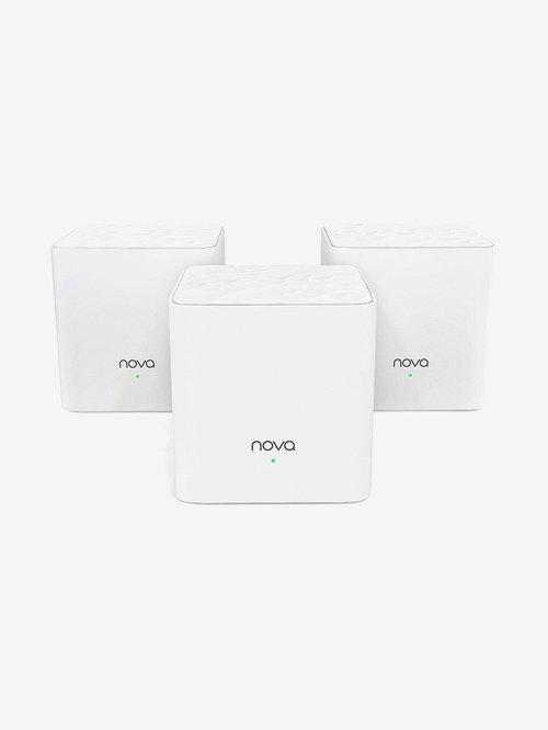 Tenda Nova MW3 3P 1200Mbps Whole Home Mesh WiFi System Set of 3  White