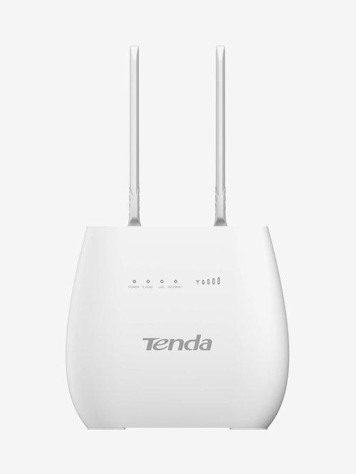 Tenda 4G680 N300 300Mbps Wi Fi 4G LTE Sim Based Router  White  Tenda Electronics TATA CLIQ