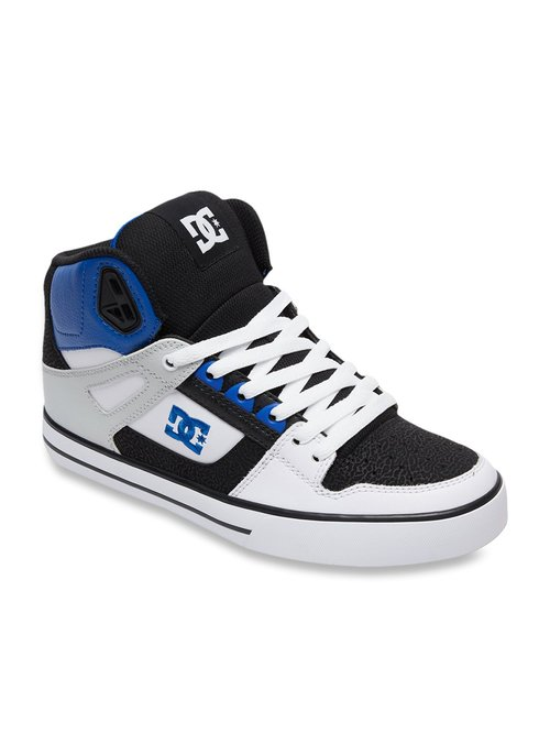 Buy DC Pure HT Blue \u0026 White Ankle High