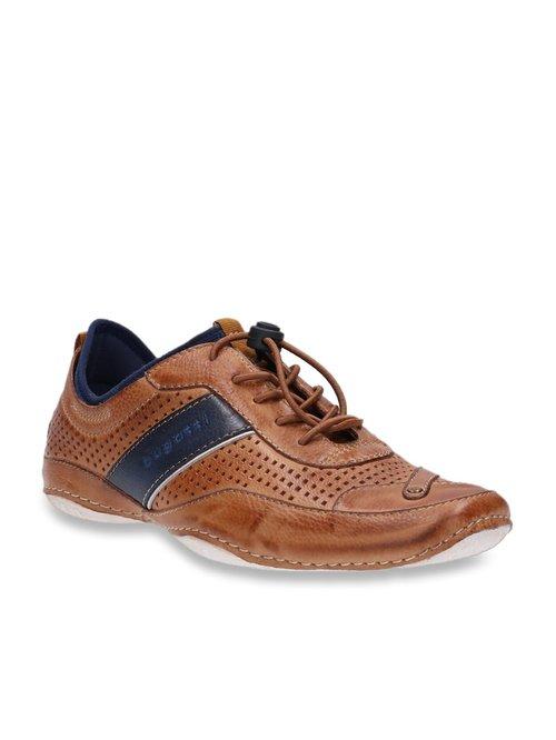 Buy Bugatti Cognac Casual Sneakers for