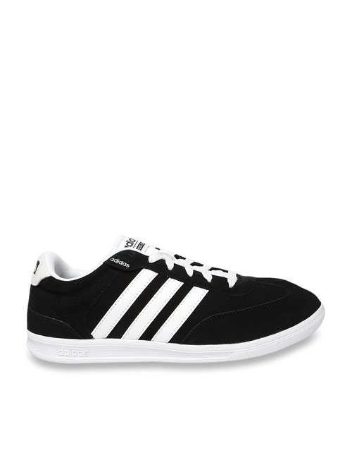 100% top quality order online 100% top quality Buy Adidas NEO Cross Court Carbon Black Sneakers for Men at ...