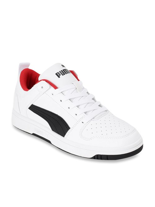 Buy Puma Kids Rebound Layup Lo SL Jr White Sneakers for