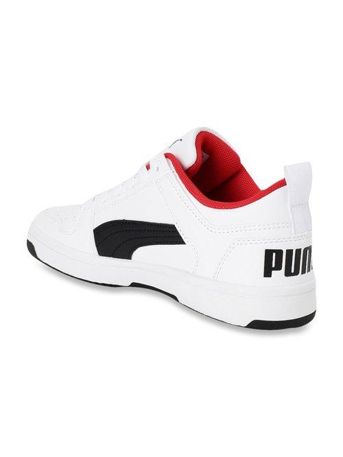 Buy Puma Kids Rebound Layup Lo SL Jr White Sneakers for Boys