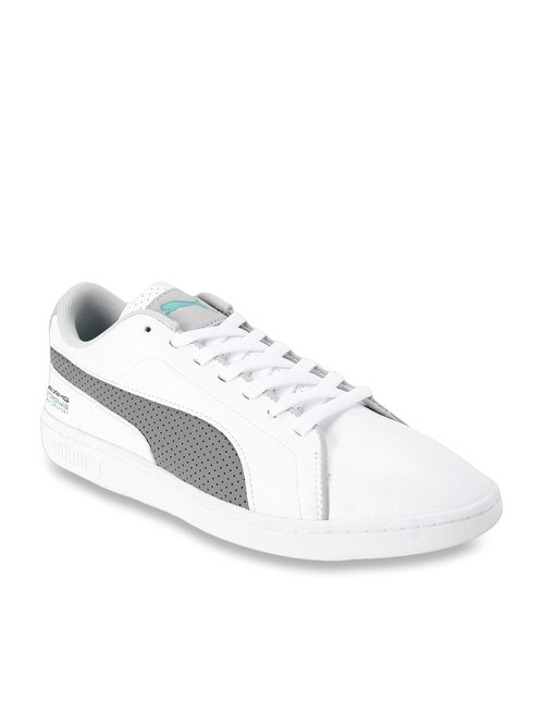 Buy Puma Mercedes MAPM Smash V2 White Sneakers for