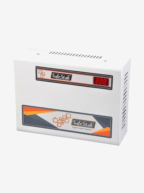 SafeStab VST400D Voltage Stabilizer for AC upto 1.5 Ton  White