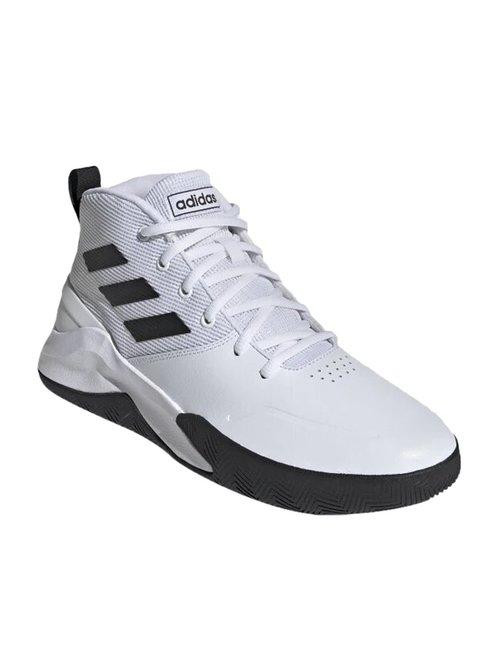 portátil Escuela de posgrado Enfermedad infecciosa  Buy Adidas Own The Game White Basketball Shoes for Men at Best Price @ Tata  CLiQ