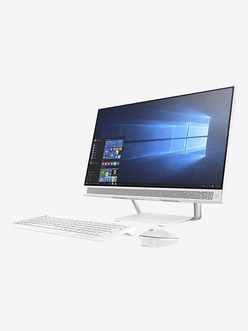 HP Pavilion 24-qa158in (8th Gen Intel Core i5/8GB DDR4/1TB/Windows 10/2GB) AIO Desktop (White)