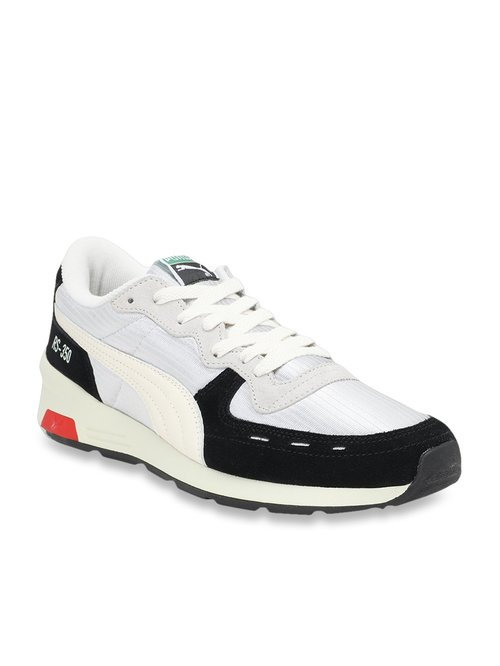 altura Idealmente Jajaja  Puma RS 350 OG Whisper White & Black Sneakers from Puma at best prices on  Tata CLiQ