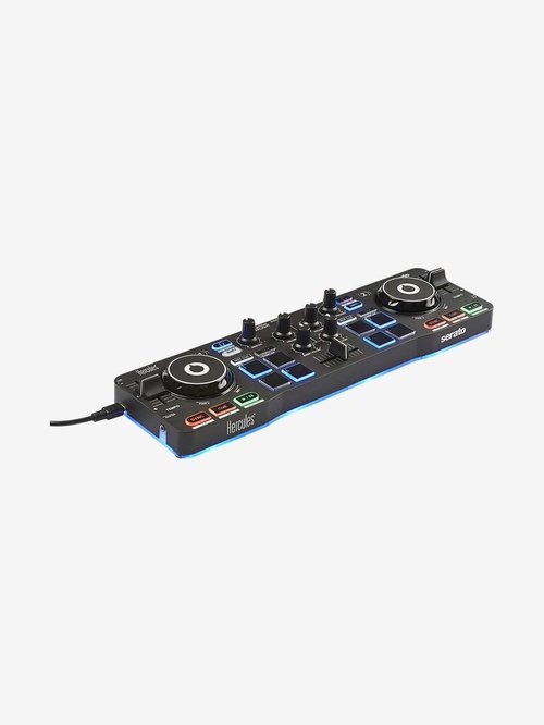 Hercules Starlight Portable USB DJ Controller (Black)