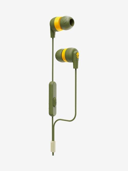 Skullcandy Inkd Plus Wired Earphones  Green