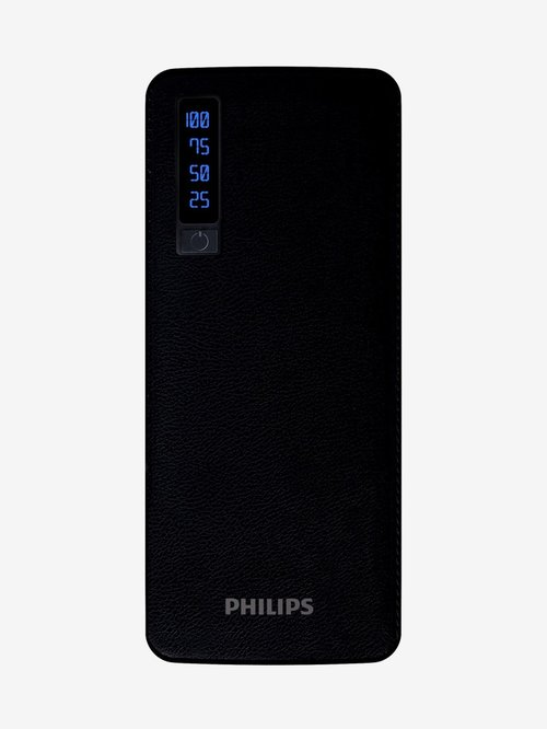 Philips DLP6006B 11000mAh Power Bank  Black