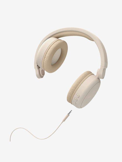 Energy Sistem Headphones 2 On The Ear Bluetooth Headphone with Mic  Beige