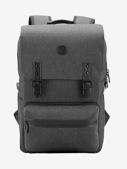 HP Millennial 18L Backpack For 15.6 inch Laptops with Detachable Laptop Sleeve and Pouch  Ebony