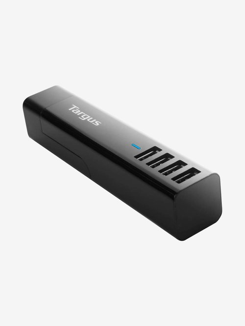 Targus USB 4 Way International Fast Charger  Black