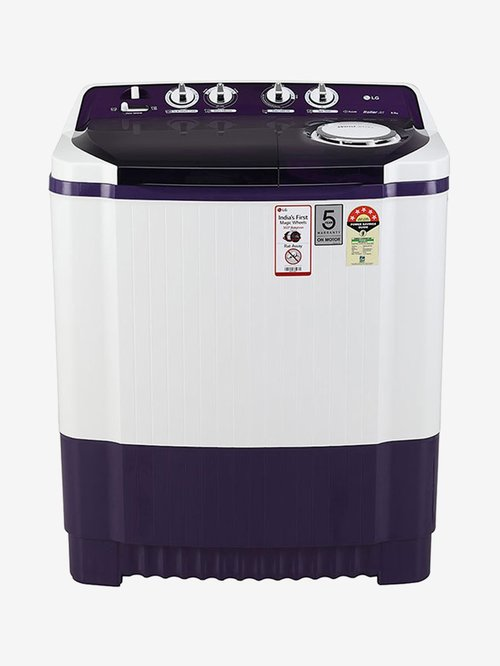LG P8035SPMZ 8 kg Semi Automatic Top Loading Washing Machine  Purple  LG Electronics TATA CLIQ