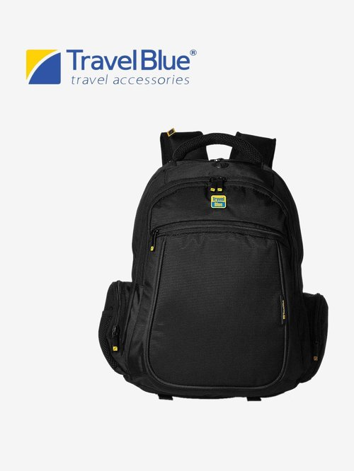 Travel Blue 3504 Laptop Backpack For 14 Inch Laptops  Black