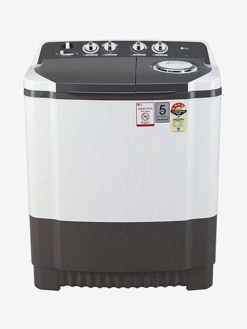 LG 7.0 kg Semi Automatic Top Load Washing Machine  P7020NGAY,Dark Grey