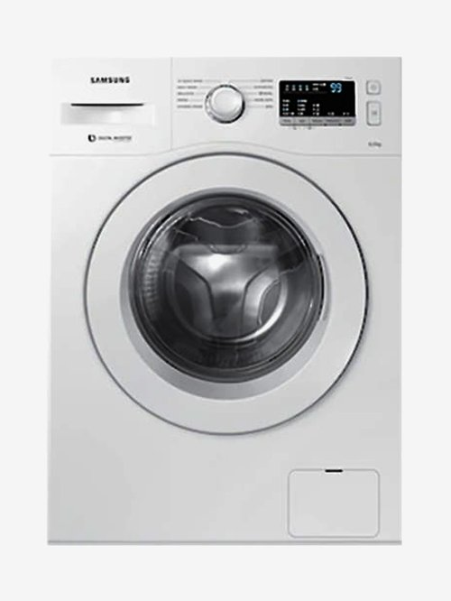Samsung 6 kg Inverter Fully Automatic Front Load Washing Machine with Heater  WW60R20GLMW/TL,White