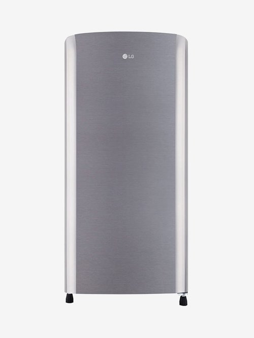 LG 190 L 3 Star  2019  Direct Cool Single Door Refrigerator  Shiny Steel, GL B201RPZC  LG Electronics TATA CLIQ