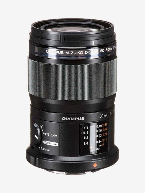 Olympus M.ZUIKO DIGITAL ED 60mm F2.8 Macro Lens  Black