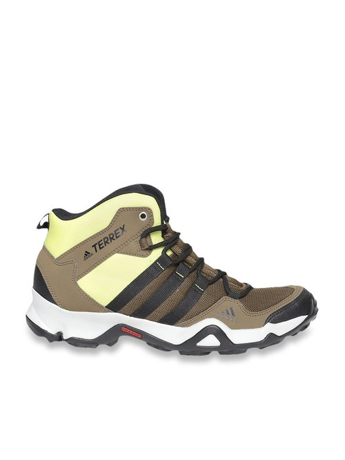 Path Cross Mid Brown Training Shoes