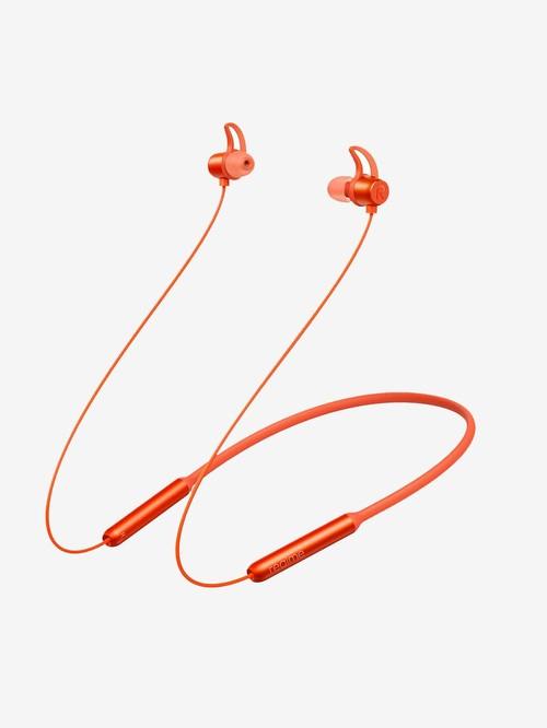 Realme *** Wireless Bluetooth Neckband (Orange)