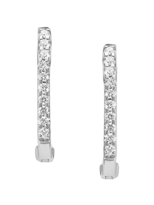 Tanishq 950 Platinum Diamond Earrings From Tanishq At Best Prices On Tata Cliq