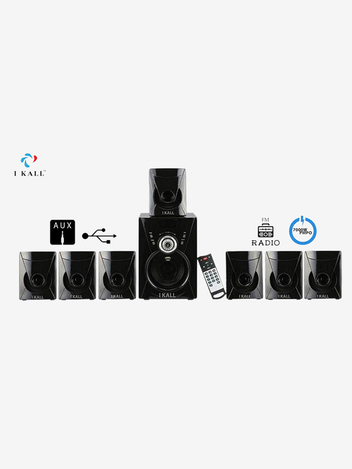 I Kall TA 777 110W 7.1 Channel Home Theatre  Black