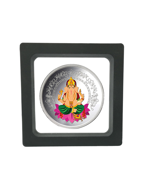 Taraash Ganesha 999 20gm Silver Coin with Gift Packaging