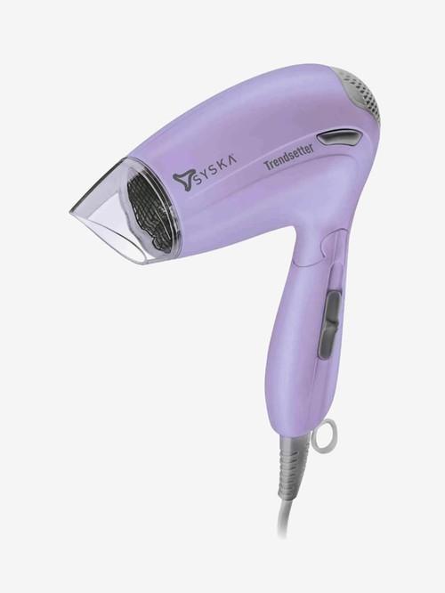 Syska Trendsetter HD1605 1000W Corded Hair Dryer  Purple