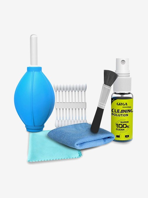 Gizga Essentials GZ CK 104 6 in 1 Gadgets Cleaning Kit for  Blue