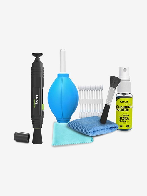 Gizga Essentials GZ COMBO 104 106 Lens Pen and 6 in 1 Cleaning Combo Kit  Multicolor