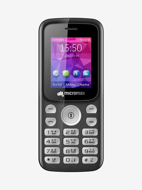 Micromax X378 32 MB  Black  32 MB RAM, Dual SIM