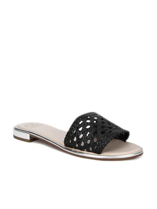 Buy Carlton London Black Casual Sandals