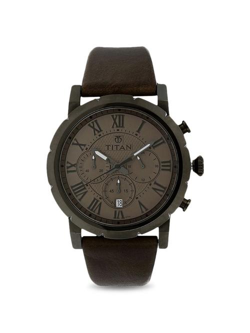 Titan NL90050QL02 Analog Watch for Men