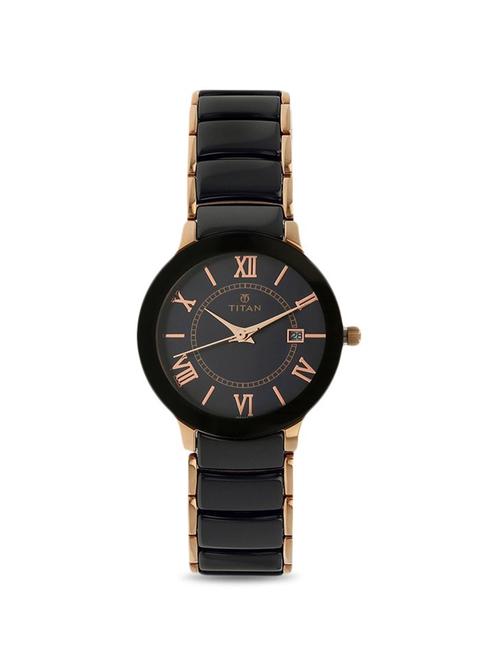Titan NL95016WD01 Purple Analog Watch for Women