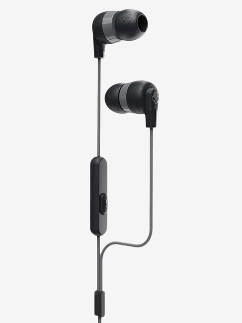 Skullcandy Inkd Plus S2IMY M448 Wired Earphone with Mic  Black