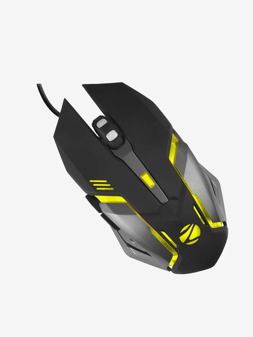 Zebronics Zeb Transformer M Wired R GB Gaming Optical Mouse  Black