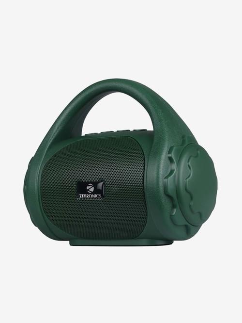 Zebronics Zeb County 3W Multimedia Handy Portable Bluetooth Speaker  Green