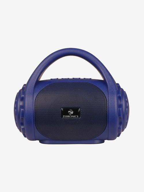 Zebronics Zeb County 3W Multimedia Handy Portable Bluetooth Speaker  Blue