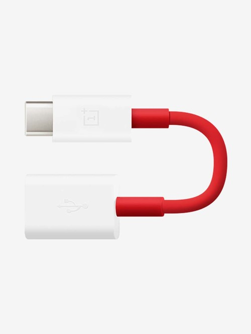 OnePlus Type C To OTG Cable  Red  OnePlus Electronics TATA CLIQ