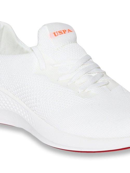 U.S. Polo Assn. Lebron White Sneakers