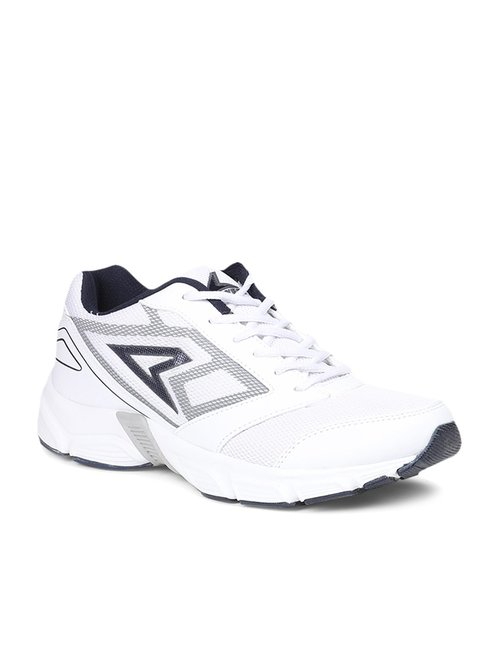 Buy Power by Bata White Running Shoes